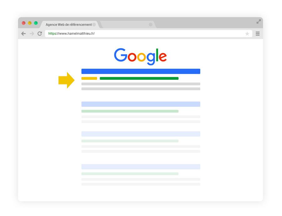 référencement google ads résultats de recherche